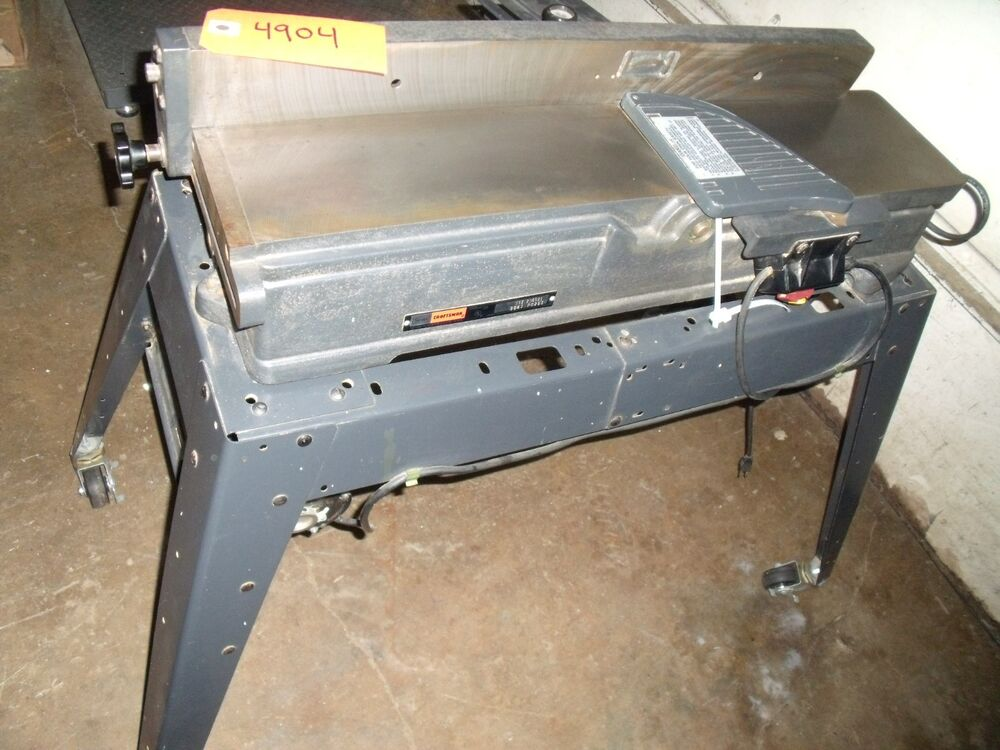 Sears Craftsman 6 X 36 Quot Jointer Planer Model 113 206931