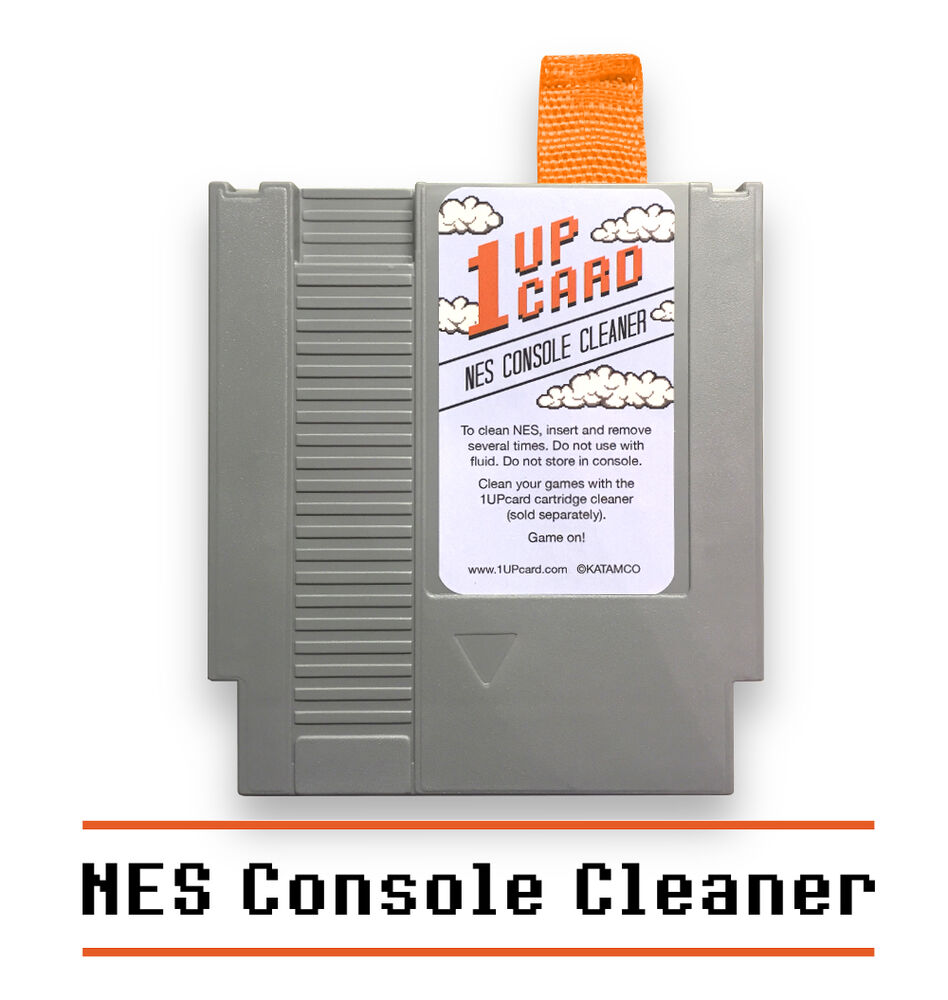 nes console cleaner nintendo cleaning kit 1upcard. Black Bedroom Furniture Sets. Home Design Ideas