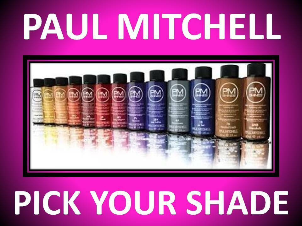 Paul Mitchell Demi Permanent 2 Oz Hair Color Pm Shines All