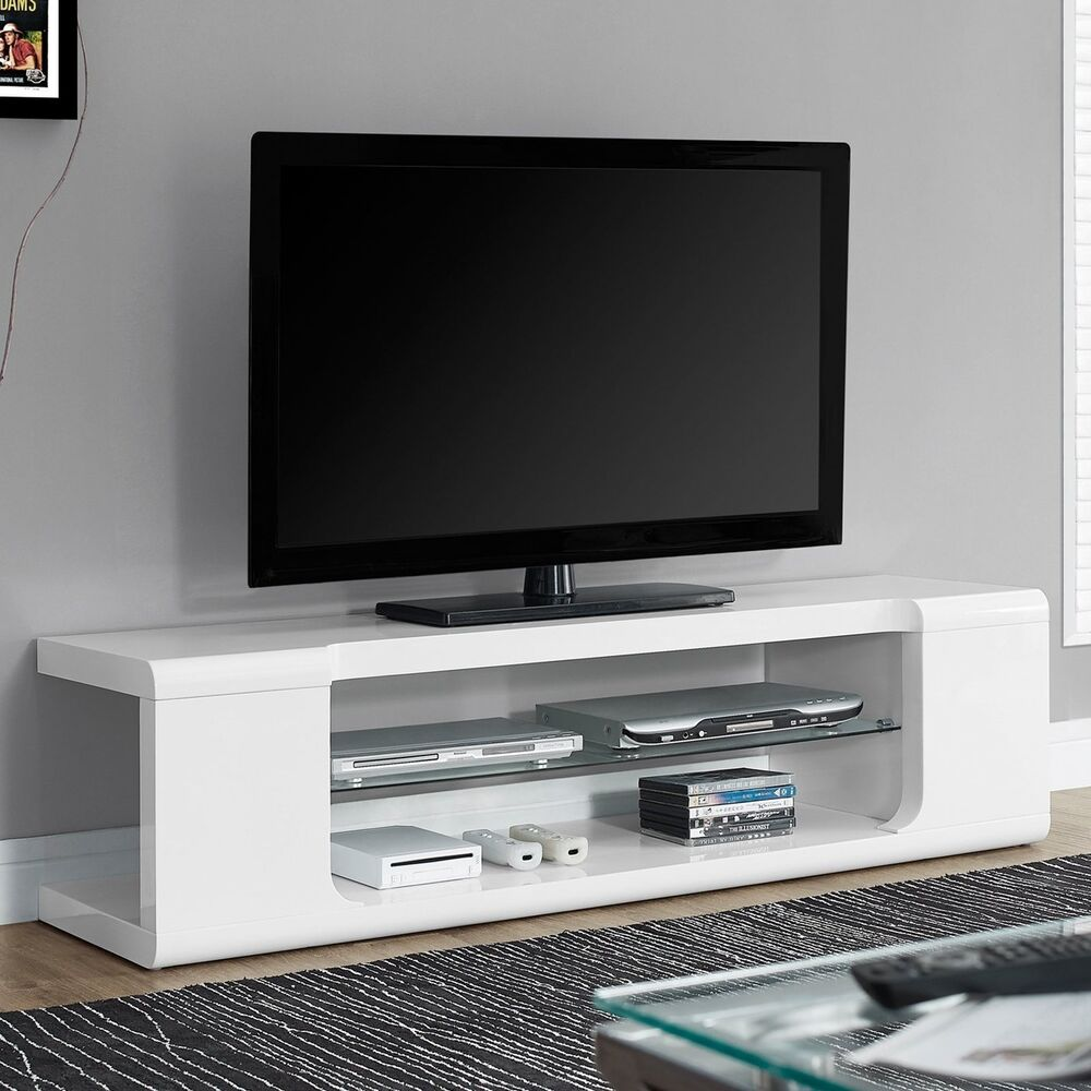 Tv Entertainment Center Modern Stand Contemporary Unit