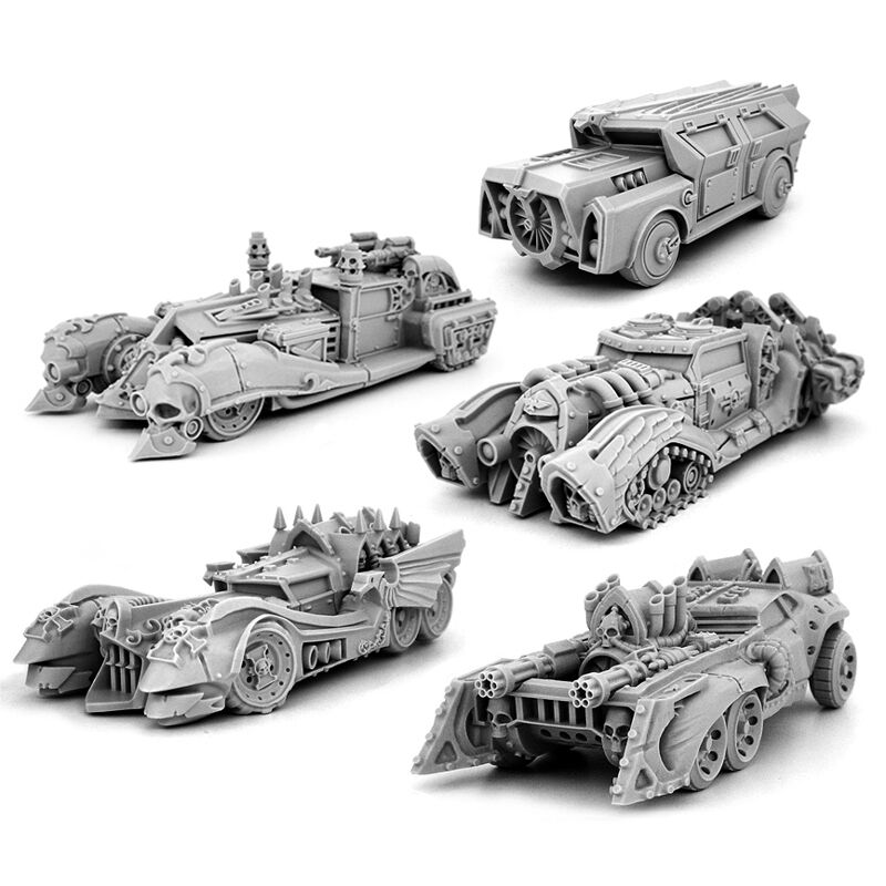 28mm-scale IMPERIAL CARS BIG PACK