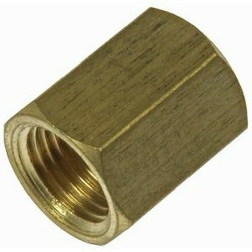Brake line union inverted flare fitting quot brass