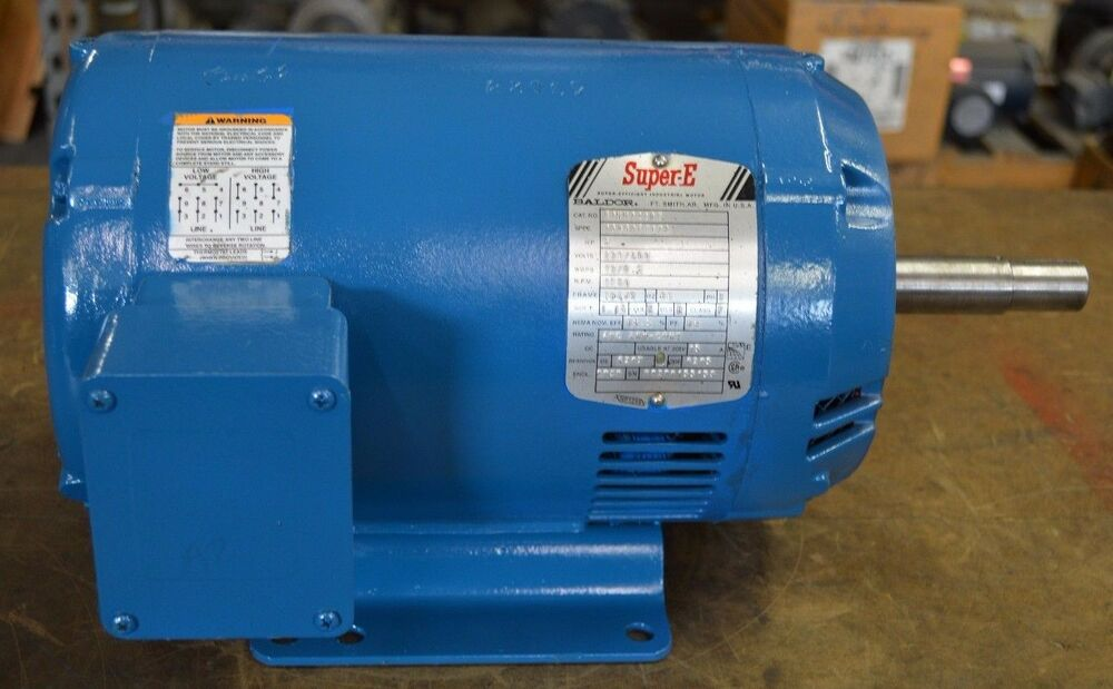 Baldor 5 hp 1750 rpm 184jm 230 460v odp ejmm3218t for 450 hp electric motor