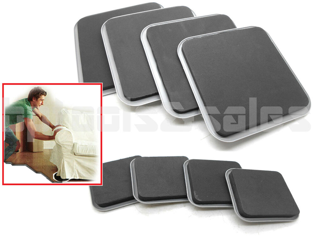 8pc Magic Moving Sliders Furniture Pad Protectors Sliders Floor Wood Carpet Move Ebay