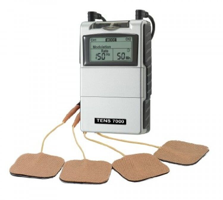 tens unit muscle stimulator tens machine for pain management back pain and ebay. Black Bedroom Furniture Sets. Home Design Ideas