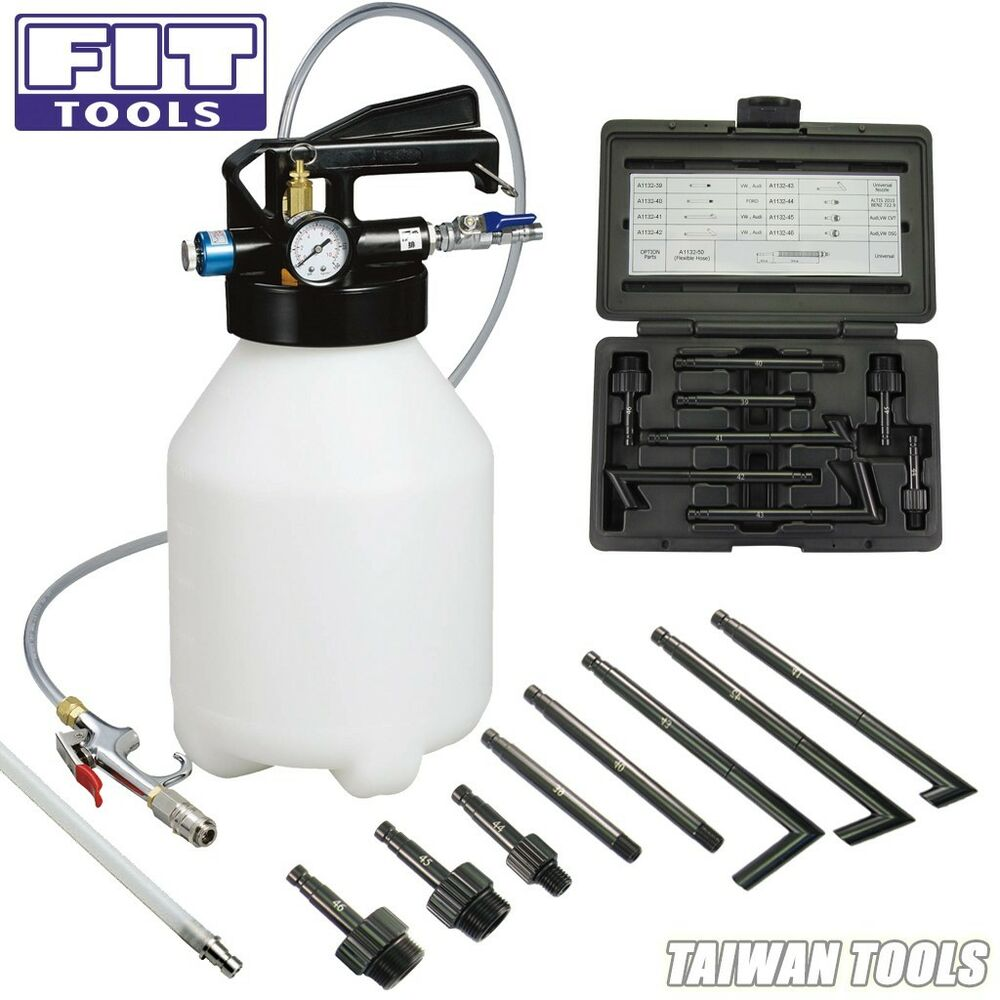 Fit 6l Pneumatic Atf Auto Transmission Fluid Extractor