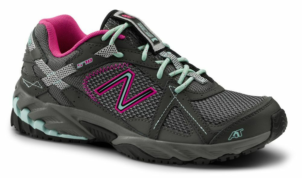 new new balance suregrip womens 570 grey pink blue trail