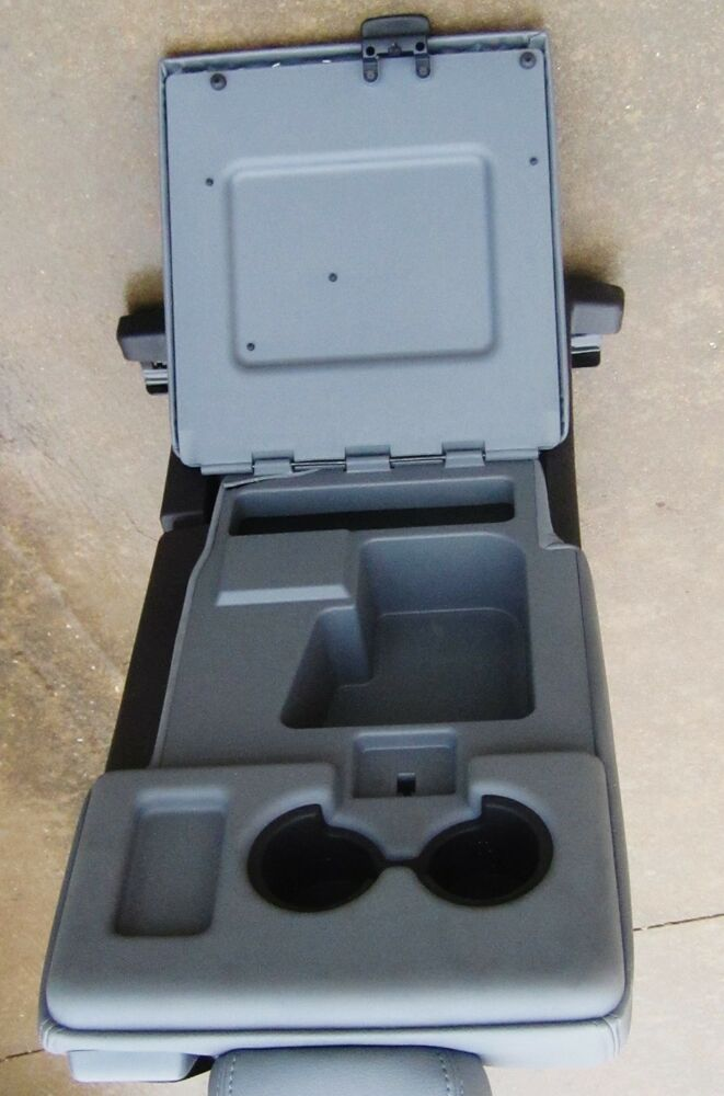 2014 Ford Superduty Center Jump Seat Console Gray