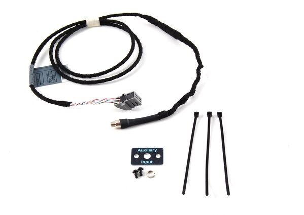 bmw aux audio input cable e46 3 series from 09  02 to 05 w