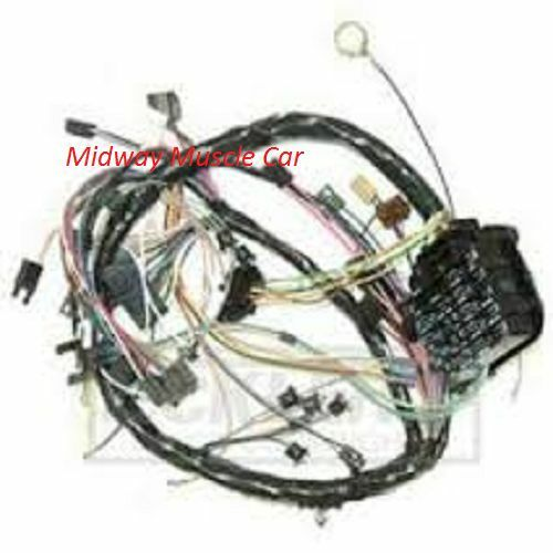 dash wiring harness 64 65 66 67 chevy chevelle malibu el Chevy Engine Wiring Harness 67 chevy truck wiring harness