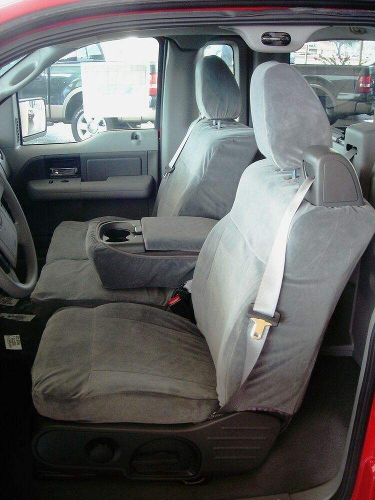 2004 2008 ford f150 front 40 20 40 gray waterproof seat. Black Bedroom Furniture Sets. Home Design Ideas