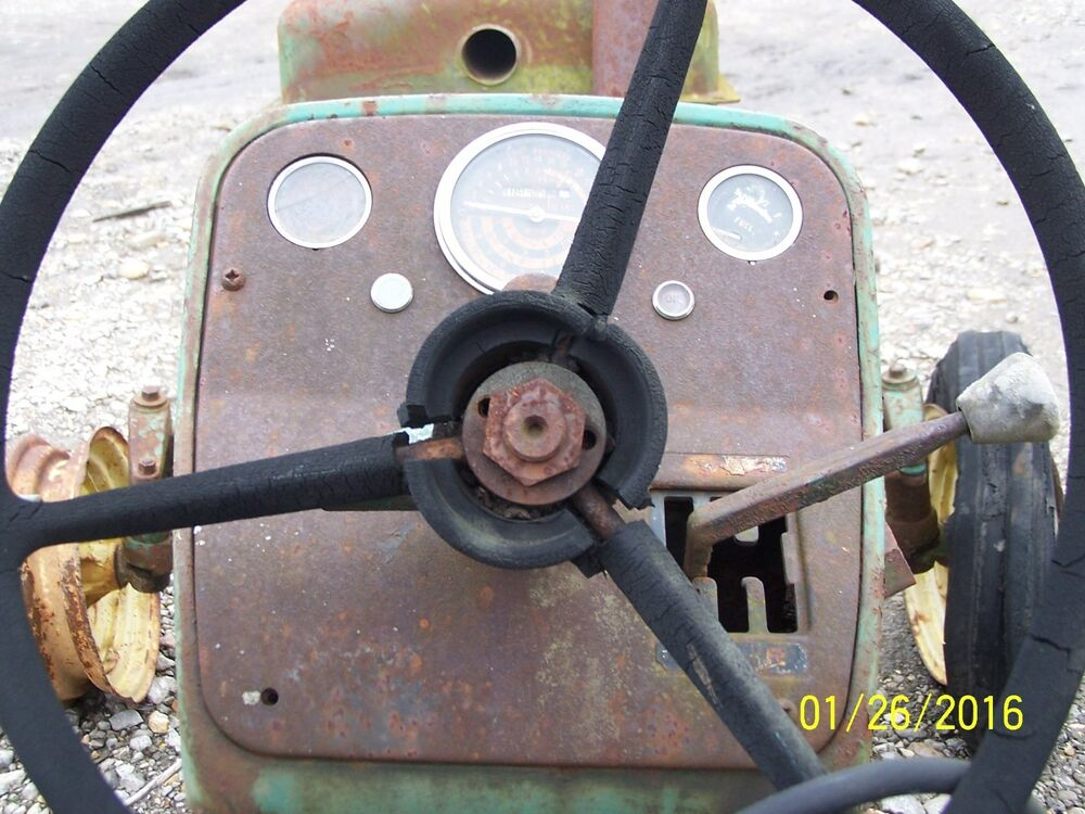 1010 John Deere Dash Light : J d john deere instrument panel with some gauges ebay