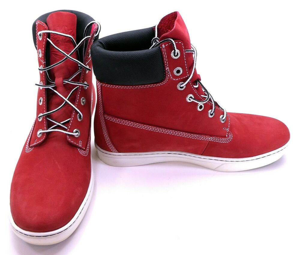 Timberland Shoes 6 Inch Premium Suede Red Boots Size 11 | eBay