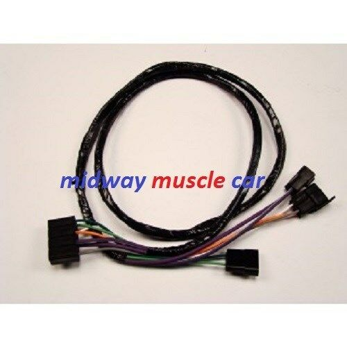 auto trans console extension wiring harness 69 70 71 72 chevy chevelle malibu ebay. Black Bedroom Furniture Sets. Home Design Ideas
