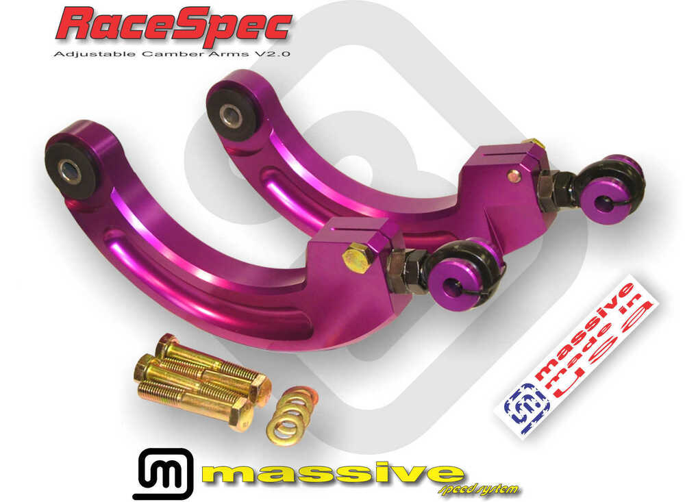 Mss Adjustable Rear Camber Control Arms Mazda 3 5 Kit 04