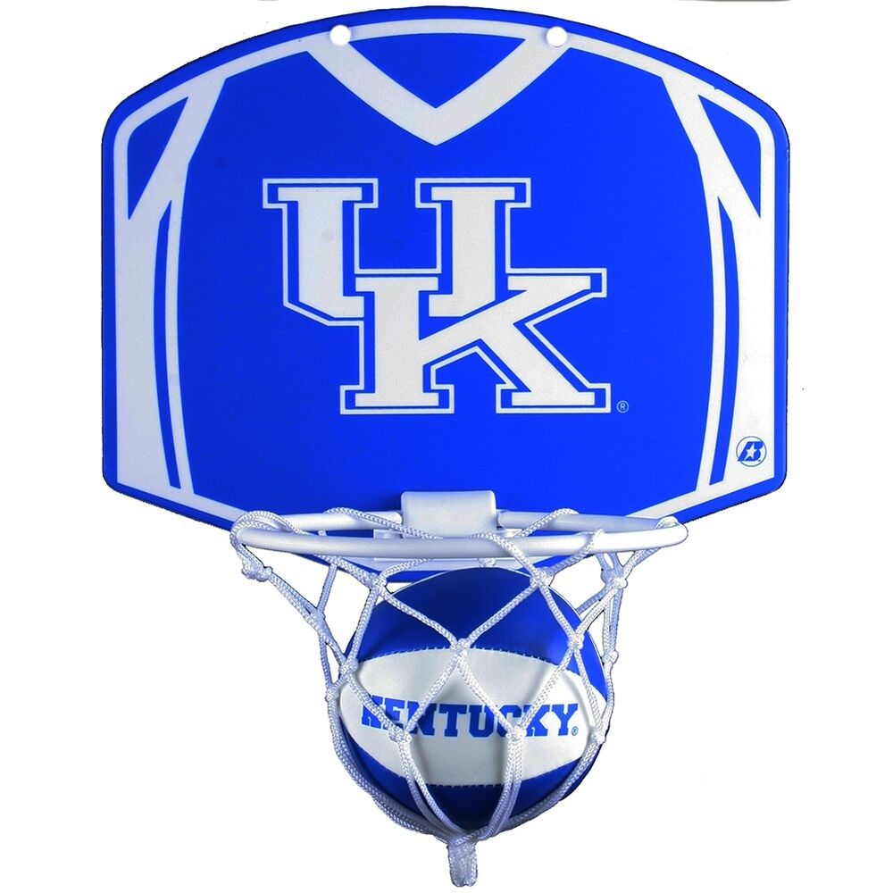 kentucky wildcats mini basketball and hoop set ebay. Black Bedroom Furniture Sets. Home Design Ideas