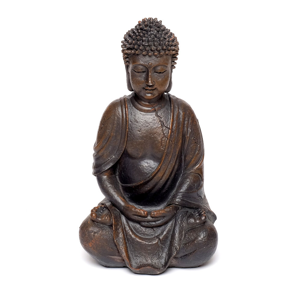 thai buddha figur statue dekoration vintage schlafzimmer deko skulptur feng shui ebay. Black Bedroom Furniture Sets. Home Design Ideas