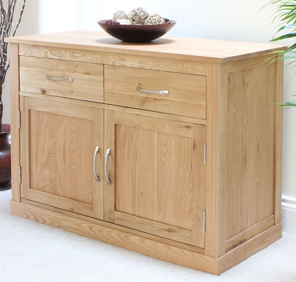 Conran solid oak furniture sideboard small living dining ...