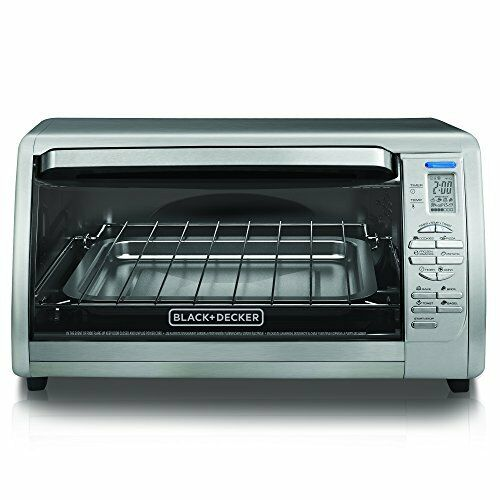 Oster Large Countertop Convection Oven Black : ... Large XL Stainless Steel Countertop Convection Toaster Oven eBay