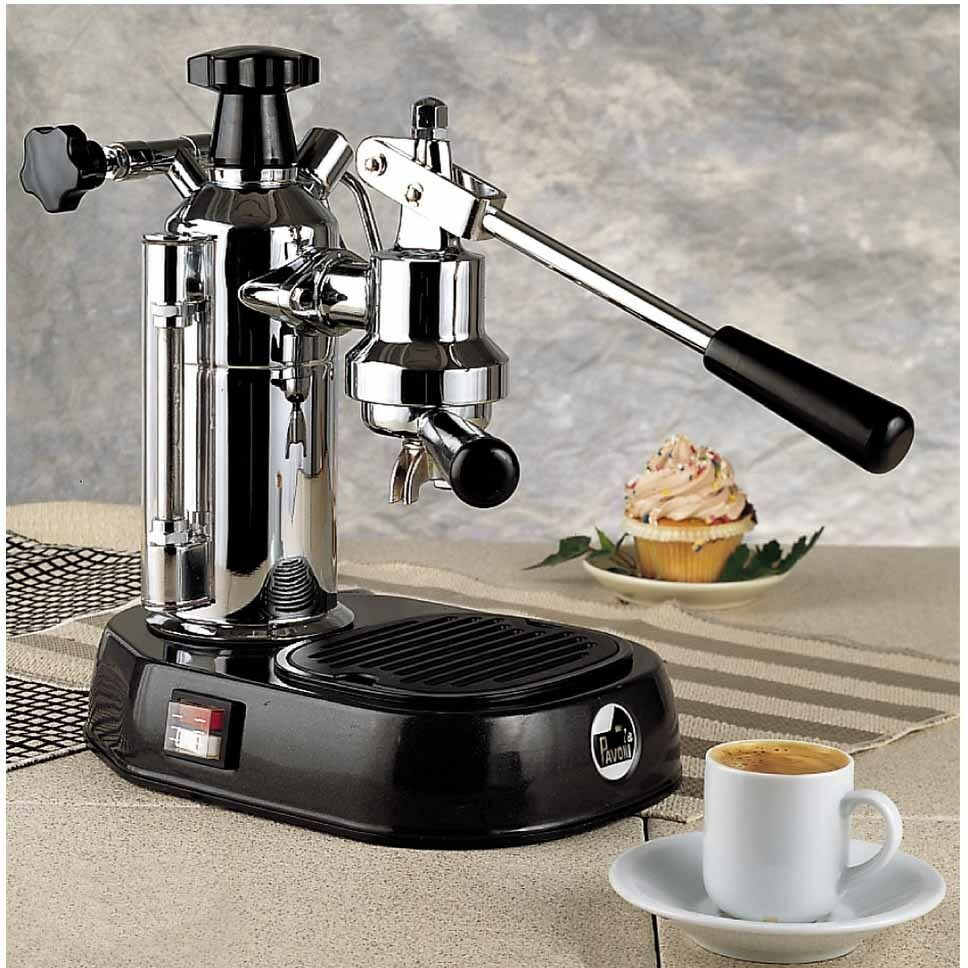 la pavoni en europiccola chrome manual lever espresso cappuccino machine 220v ebay. Black Bedroom Furniture Sets. Home Design Ideas