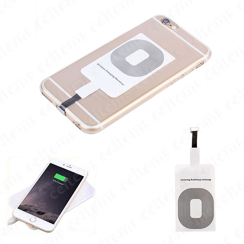 qi wireless charging receiver card charger module mat for. Black Bedroom Furniture Sets. Home Design Ideas