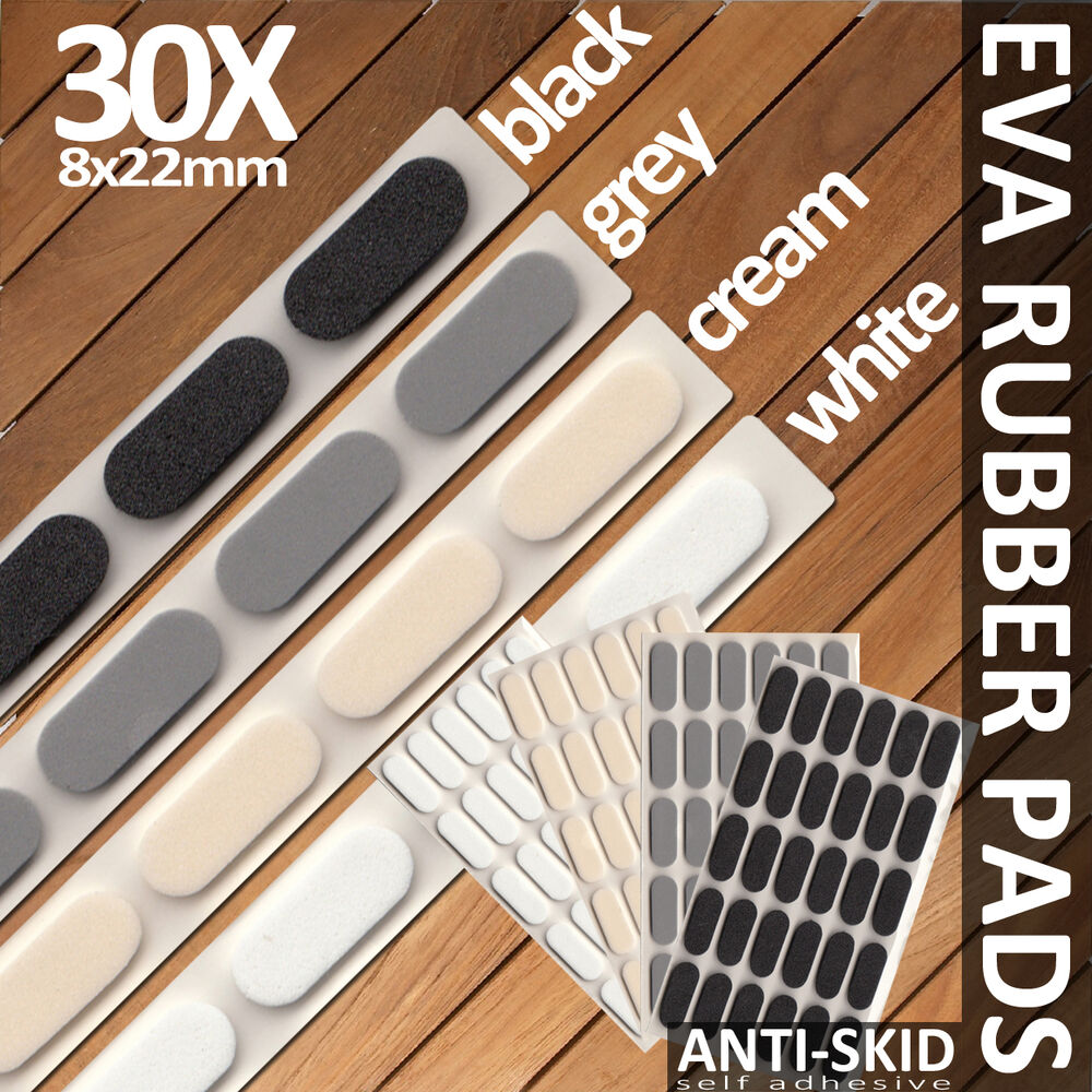 Soft close self adhesive cupboard door eva pads buffer bumper noise absorber ebay - Door cushion pads ...