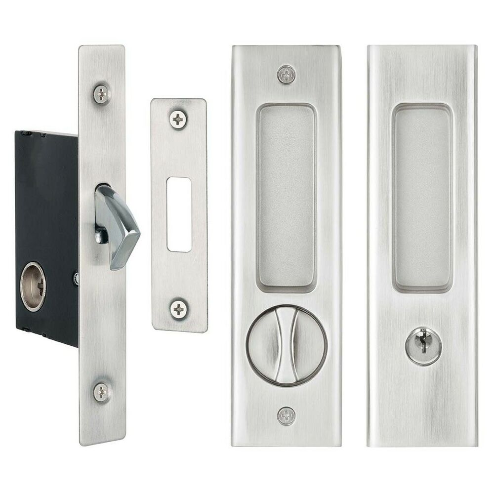 Delf Cavity Sliding Door Lock Set 70178sn Square Edge