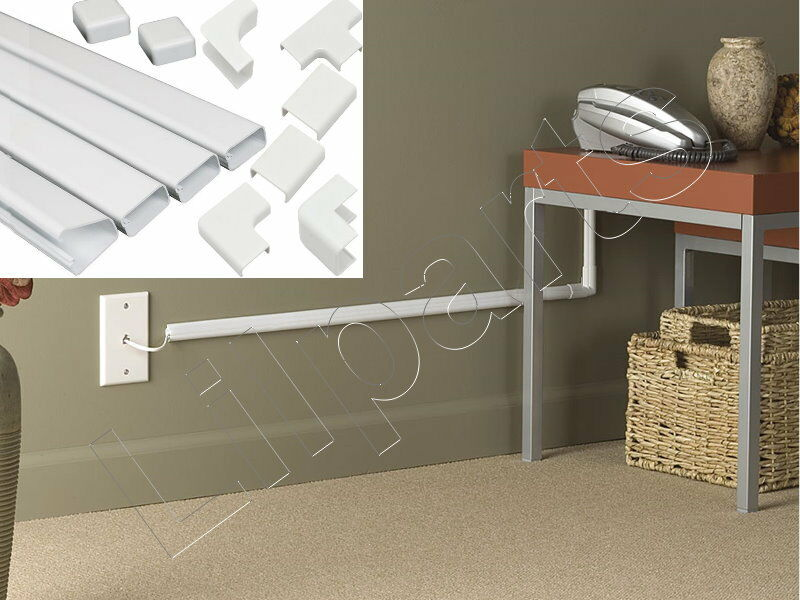 Wall Conduit Channel Plastic Wire Molding Raceway Cable