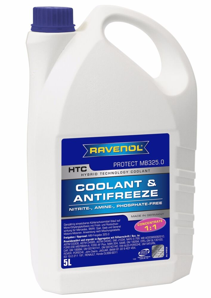 Ravenol htc coolant antifreeze mercedes benz mb 325 0 vw for Mercedes benz coolant