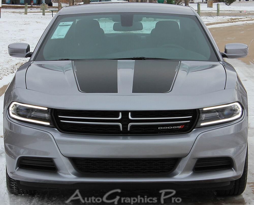 2015 2019 Dodge Charger Recharge Hood 3m Vinyl Decal