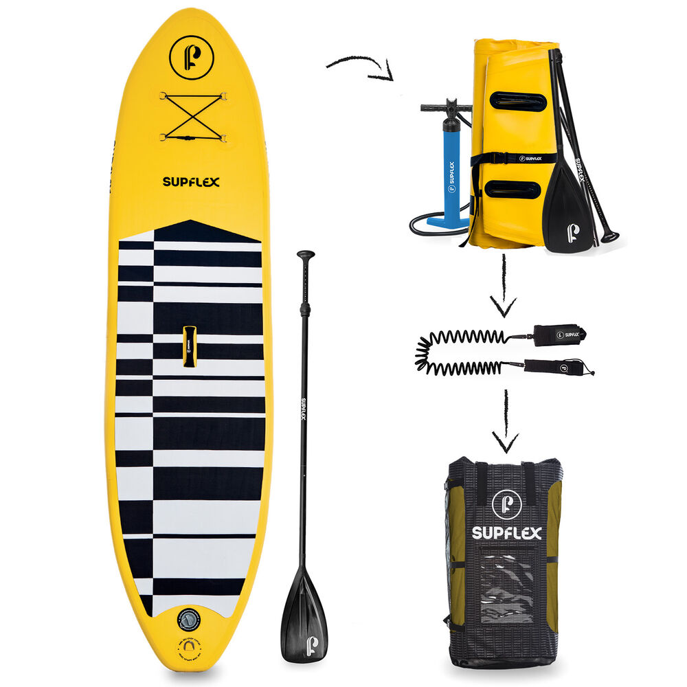 Supflex Board 10ft Inflatable Stand Up Sup Paddle 6