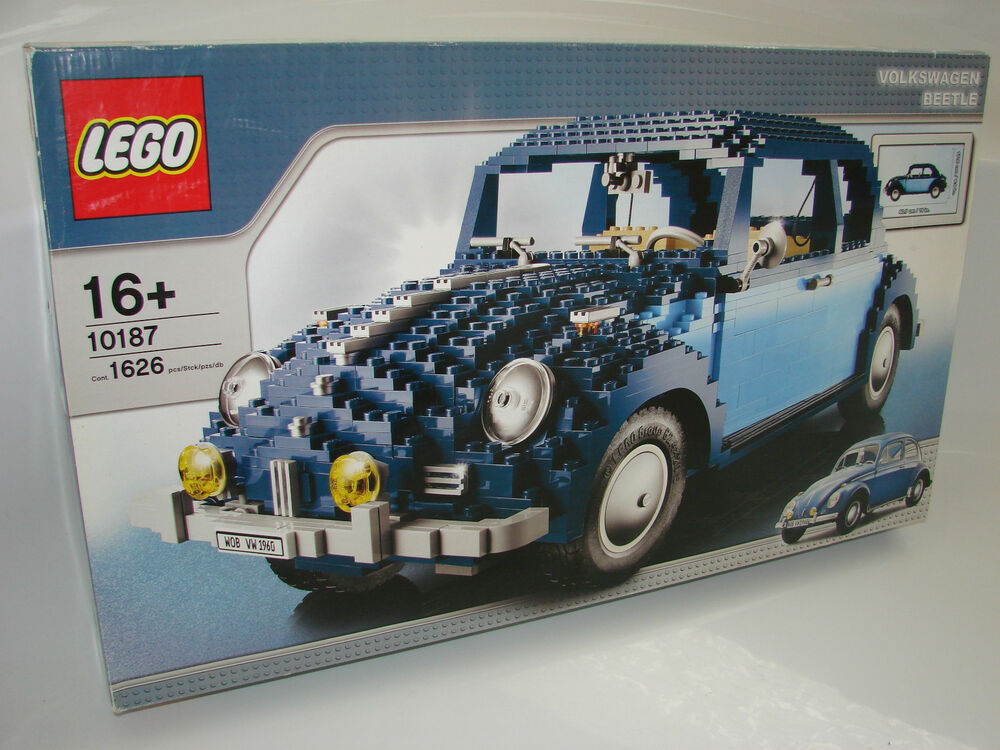 lego exclusive 10187 vw k fer oldtimer neu ovp. Black Bedroom Furniture Sets. Home Design Ideas