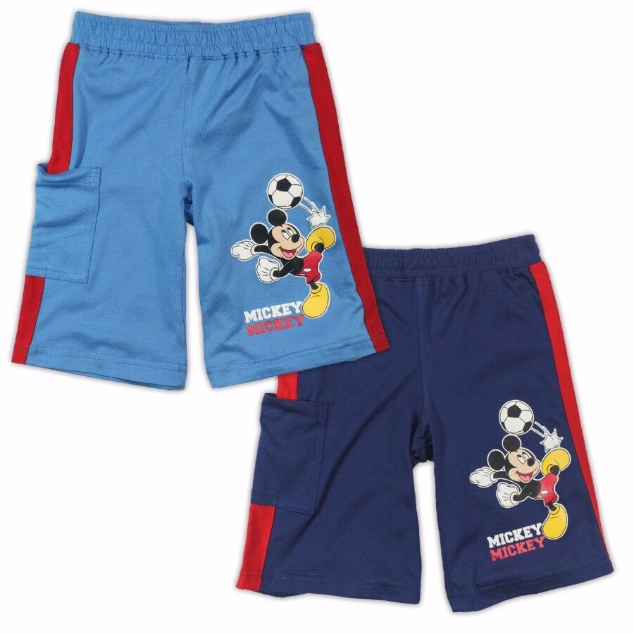 mickey mouse shorts hose kurze jogginghose 92 98 104 110. Black Bedroom Furniture Sets. Home Design Ideas