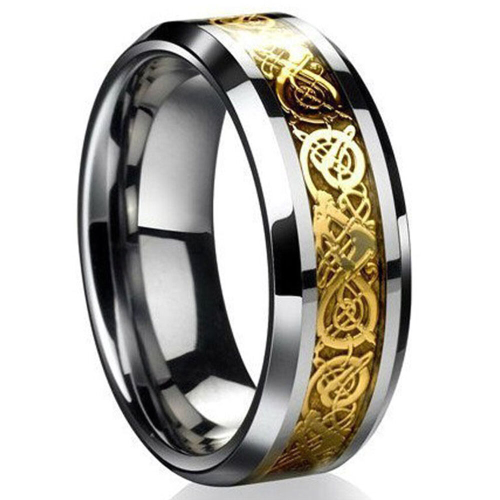 Women Tungsten Wedding Rings 005 - Women Tungsten Wedding Rings