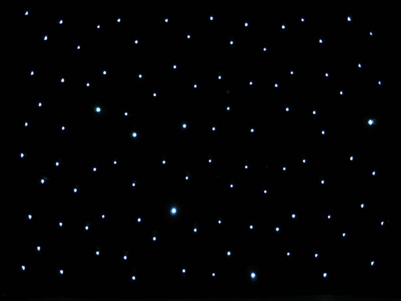 20ft Black Led Starlight Backdrop Curtain For Wedding Ebay