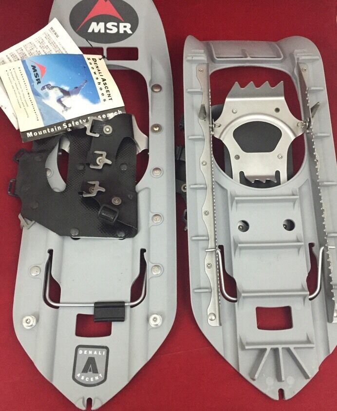 NEW MSR DENALI ASCENT Military Snowshoes W/Bindings No
