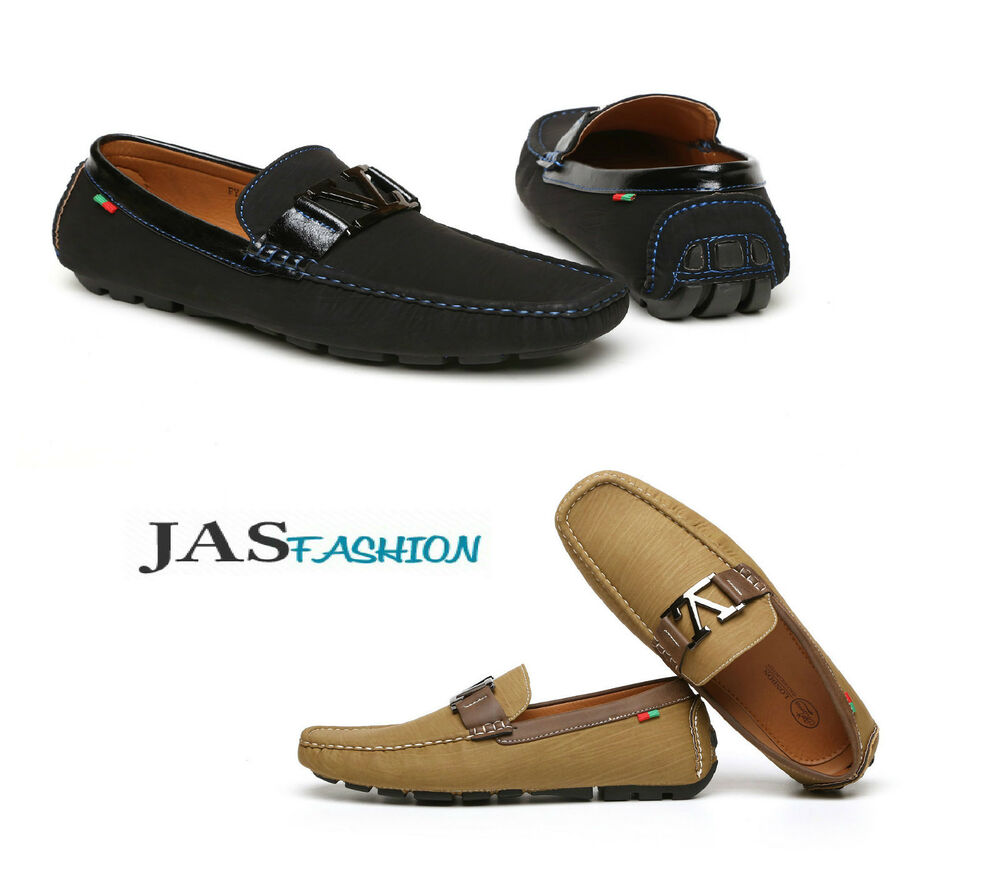 Mens Moccasin Driving Shoes