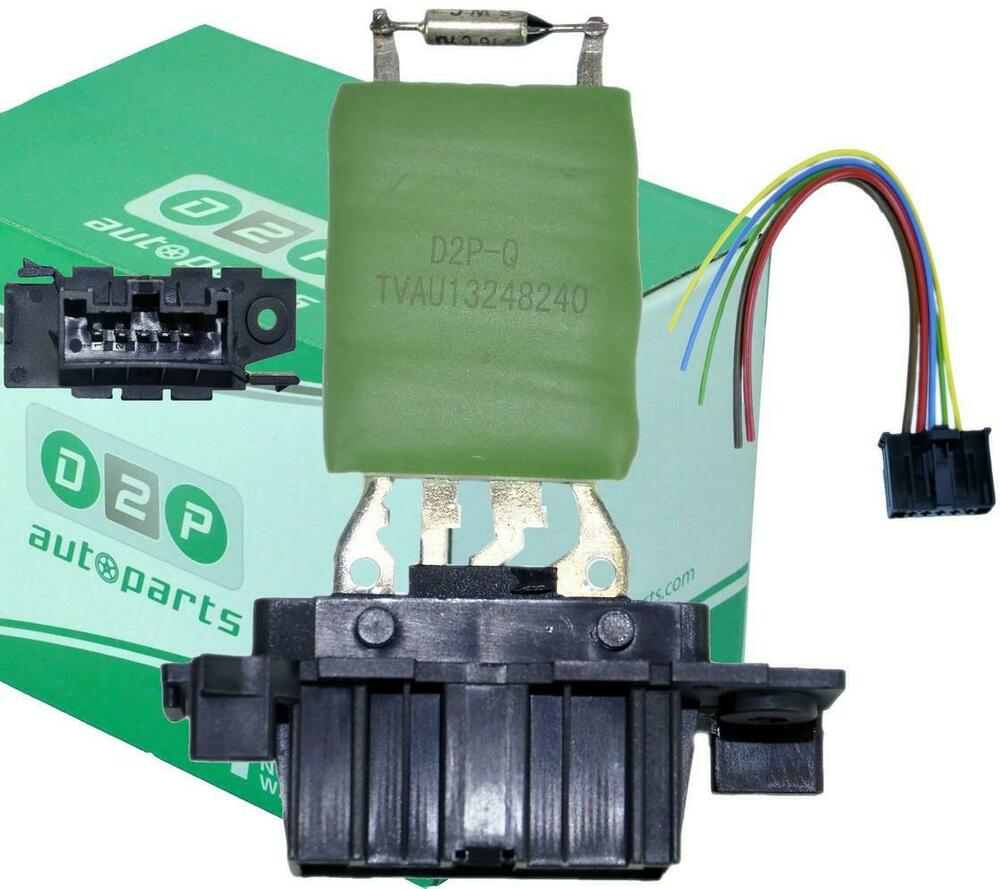 Heater Blower Motor Fan Resistor  U0026 Wiring Loom For Fiat