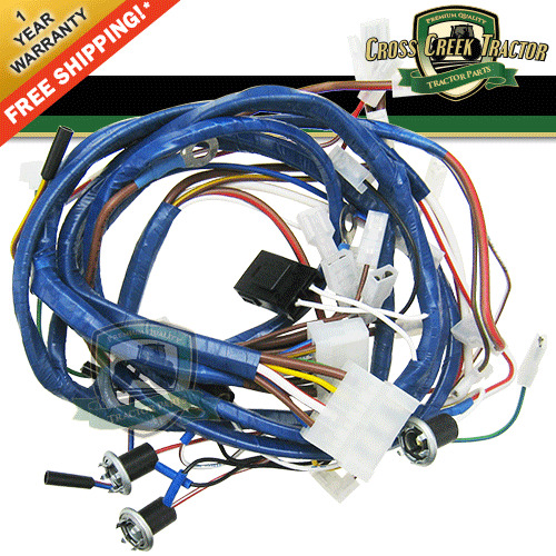 c5nn14a103af new ford tractor wiring harness front and. Black Bedroom Furniture Sets. Home Design Ideas