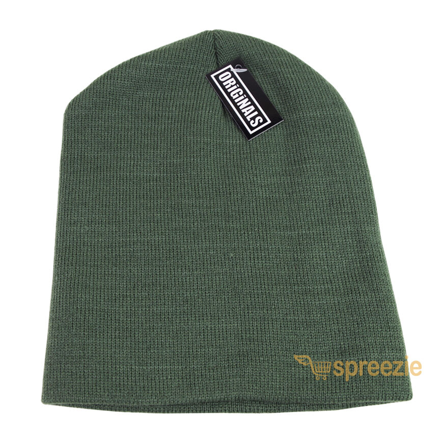 Details about Olive Green Skull Cap Plain Beanie Knitted Ski Hat Skully  Warm Winter Solid New 5cc7897d2dc