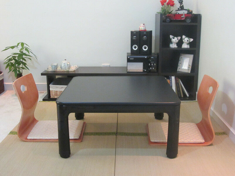Japanese Kotatsu Table Folding Legs Reversible Table Top Floor Low