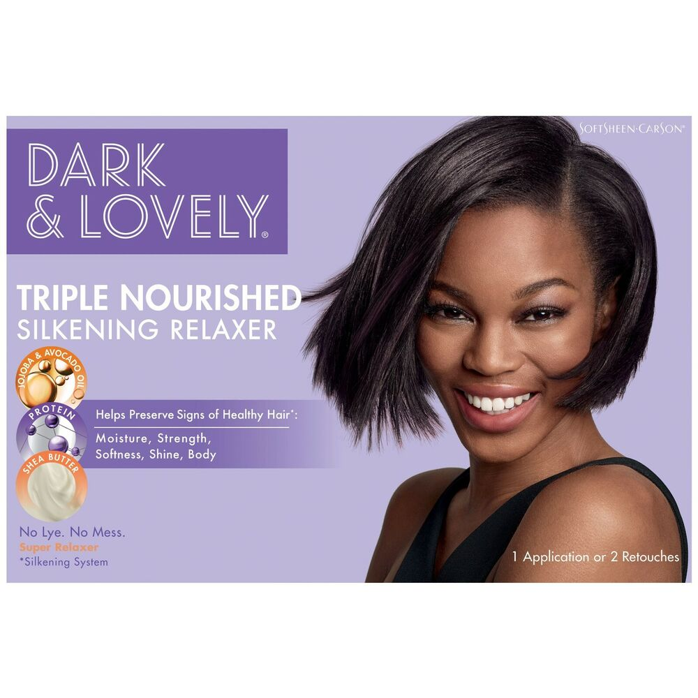 Dark And Lovely Healthy Gloss Shea Butter Relaxer Super 1