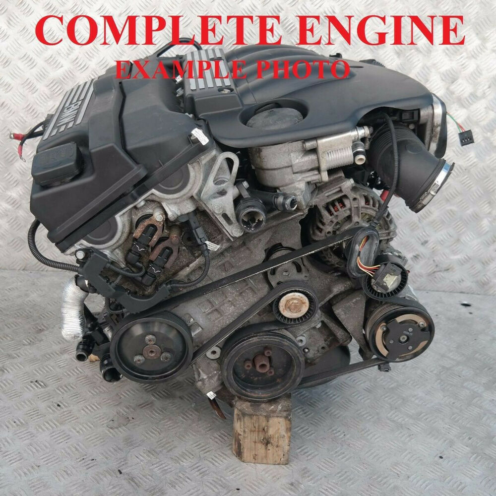 Bmw 1 3 Series E87 E90 E91 120i 320i 150hp Engine N46b20b With 60k Miles