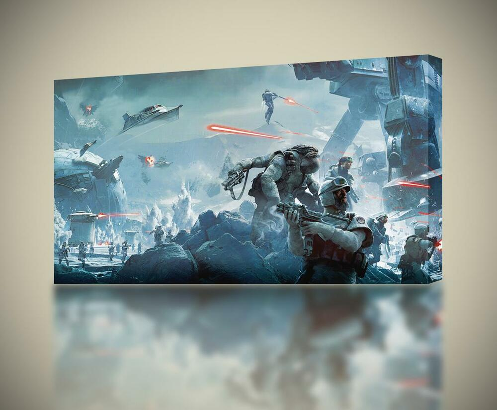 Star wars battlefront canvas print wall art home decor for Picture wall decor