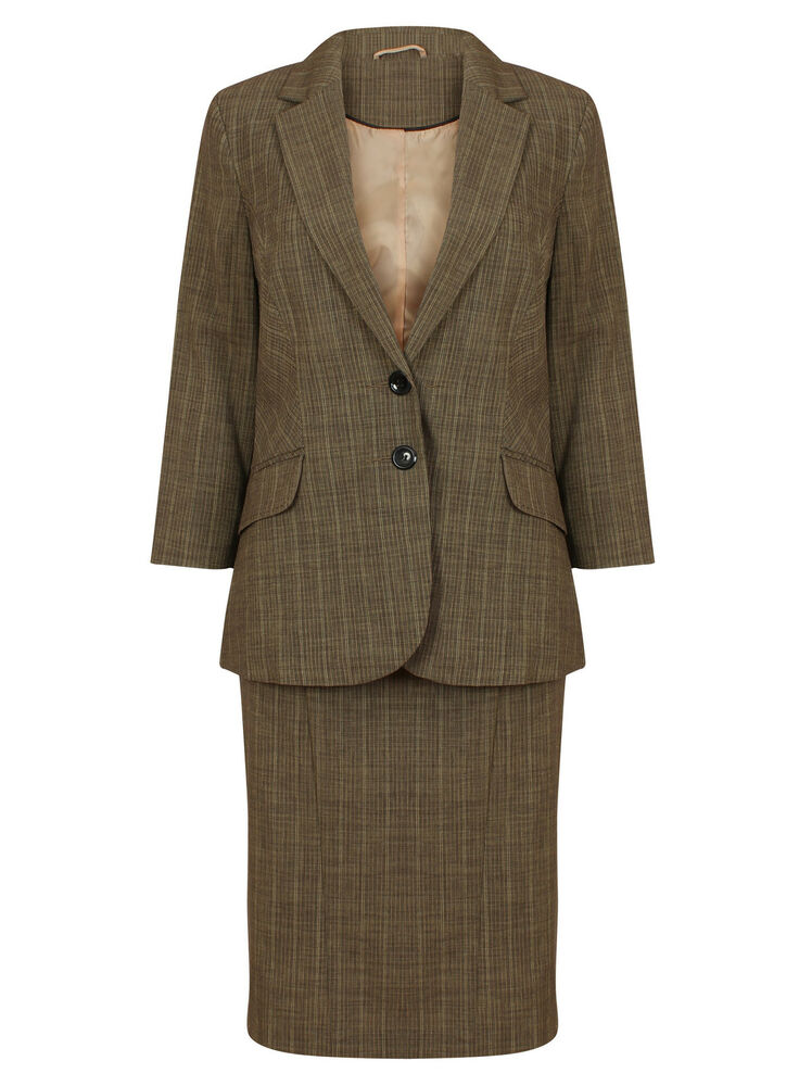 new 2 pencil skirt business office suit size