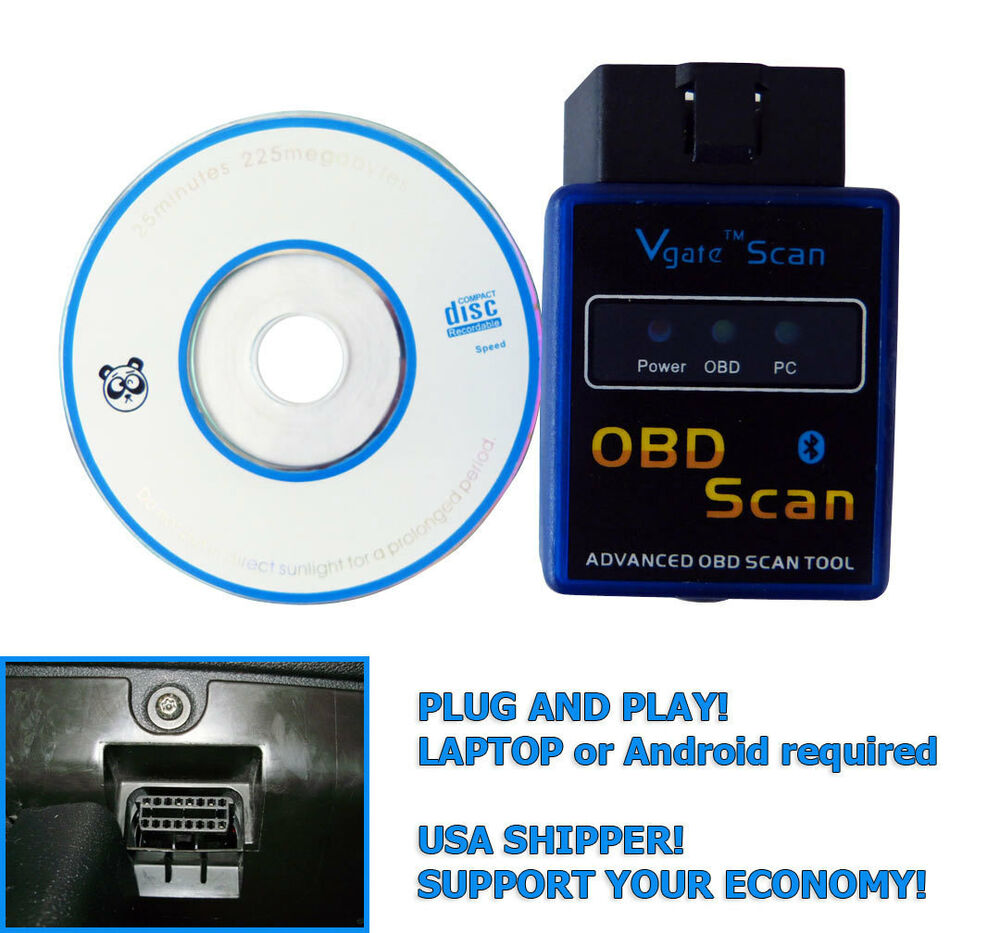 Obd2 performance meter diagnostic tool bluetooth using for Ebay motors app for android