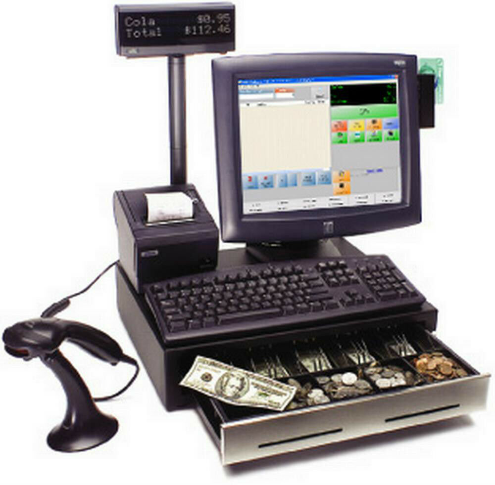 3 Station Point Of Sale System Retail Store Pos Complete