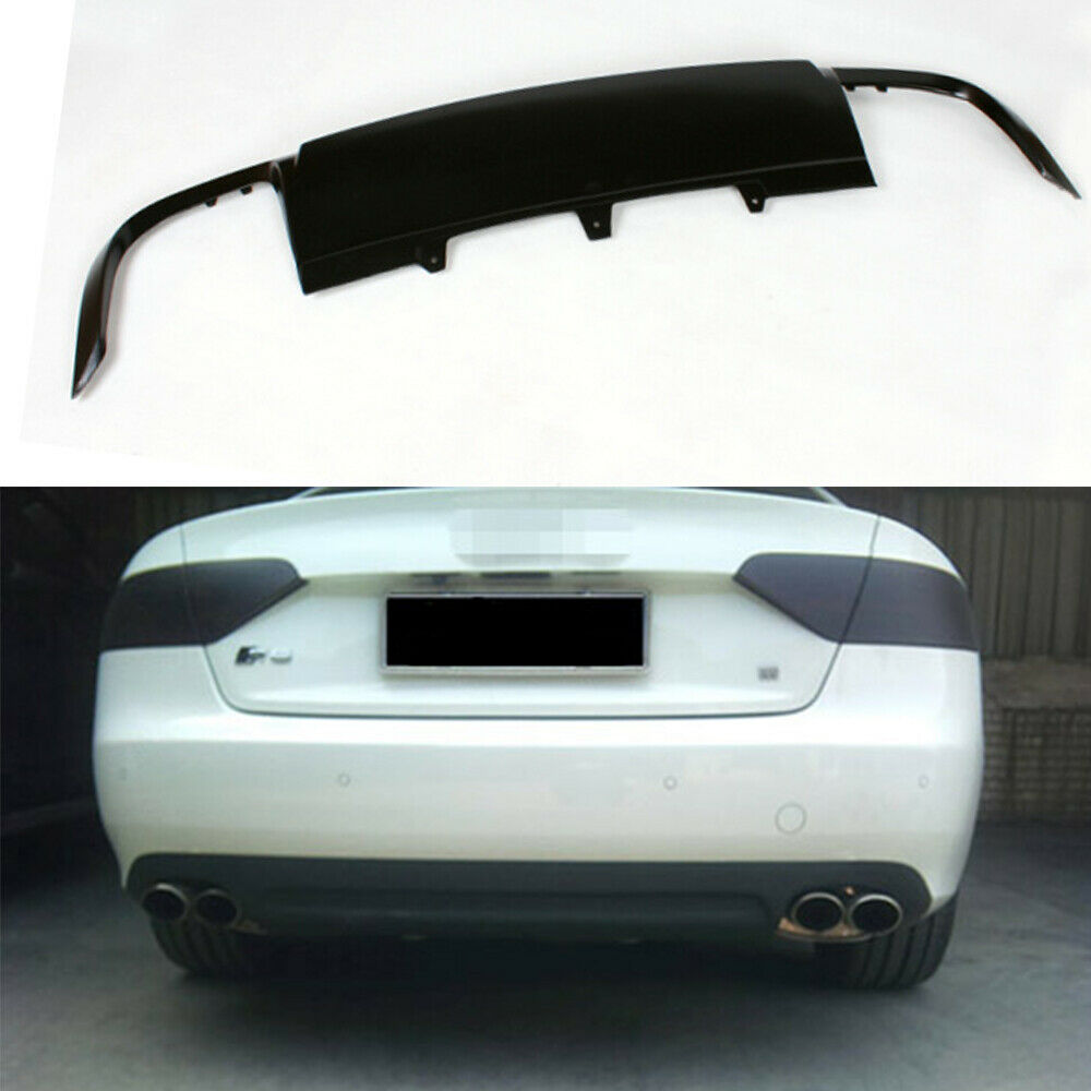 s type rear diffuser lower lip fit for audi a5 sportback. Black Bedroom Furniture Sets. Home Design Ideas