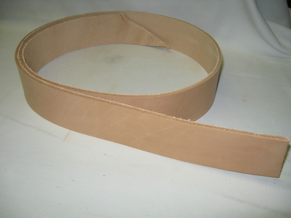 vegetable tanned leather belt blank 1 1 2 quot ebay