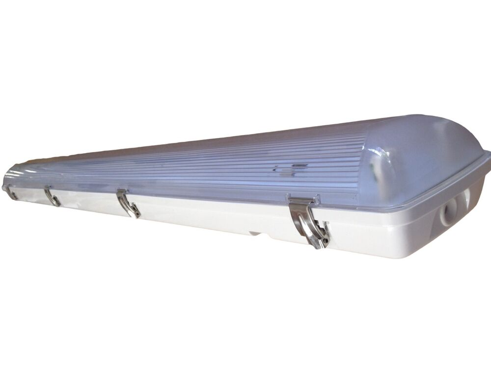 Vapor Tight Fluorescent Light Fixture 4 Two Lamp T5 54